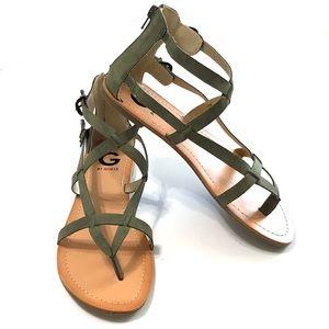 G by Guess Hisabel Gladiator Sandal NWOT